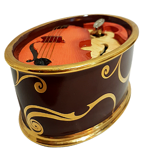 Cello Music Box Playing Vivaldi Four Seasons
