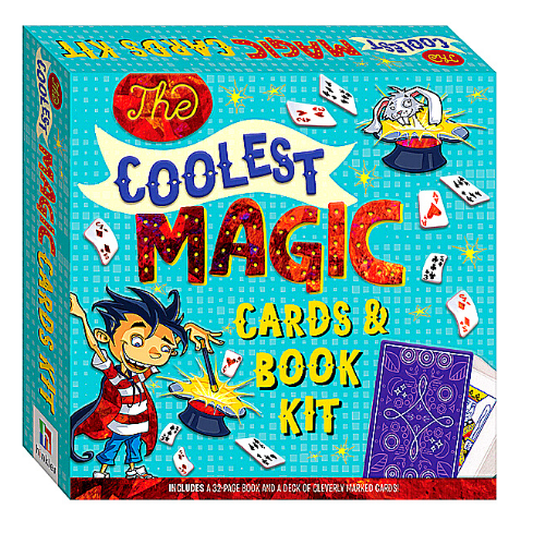 The Coolest Magic Cards and Book Kit.