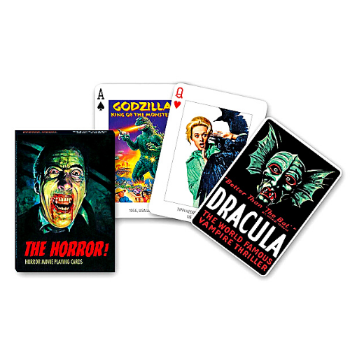Horror Movie Poker Playing Cards