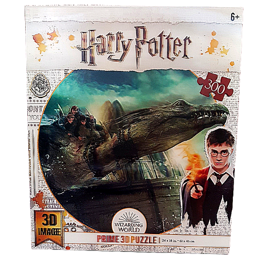Harry Potter Wizarding World 3D Puzzle