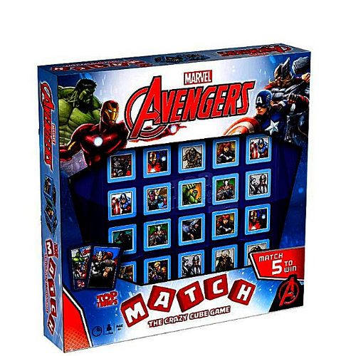 Marvel Avengers Top Trump Match Game