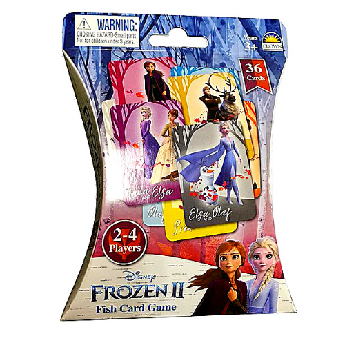 Frozen II Fish Card Game