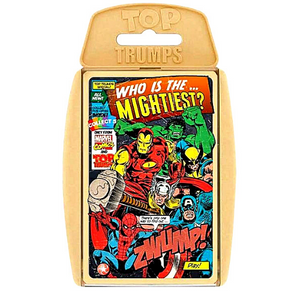 Top Trumps MARVEL Retro Playing Cards