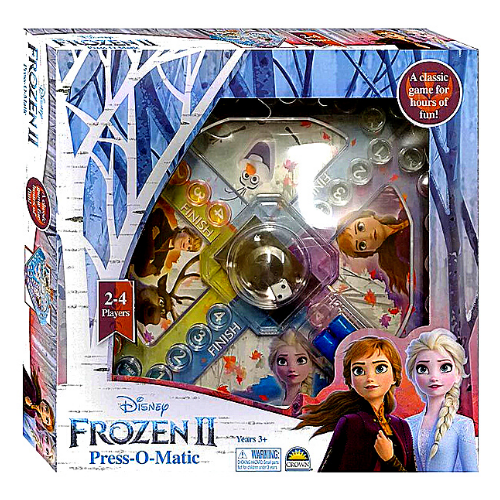 Disney FROZEN II Press-O-Matic Game