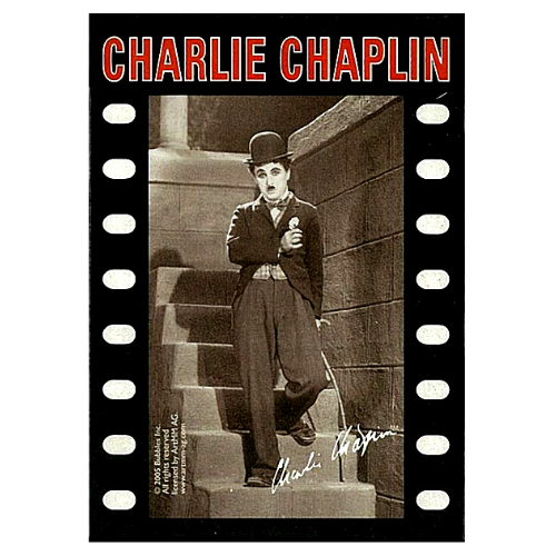 Charlie Chaplin Poker Playing Cards