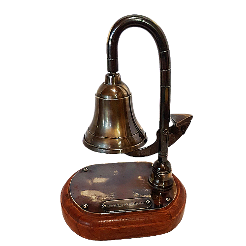 Stanley London Brass Deck Bell
