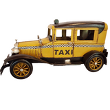Yellow Taxi Cab Model