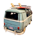 VW Blue Kombi Van