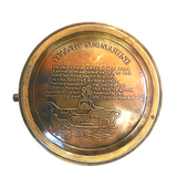 Yellow Submarine Brass  Compass