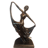 Art Deco Dancing Lady Table Lamp