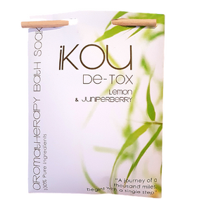 iKOU Bath Soak _ Detox Lemon & Juniperberry