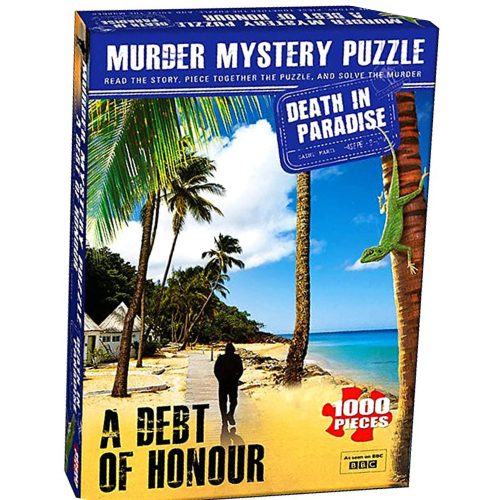 A Debt Of Honour Murder Mystery Puzzle - Death In  Paradise