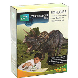 BBC Earth- Triceratops Dig Science Kit