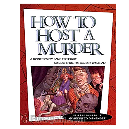 How To Host A Murder Board Game  - An Affair To Remember