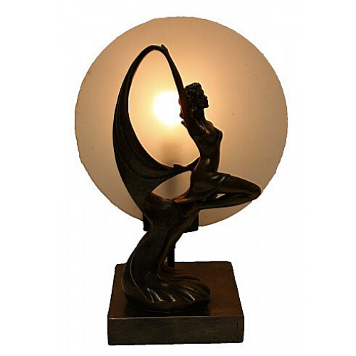Art Deco Elegant Dancing Lady