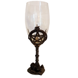 Witches Pentagram Wine Glass