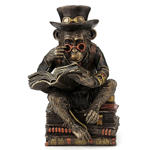 Steampunk Professor Monkey