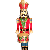 Drummer Nutcracker Solider LED Lights Large