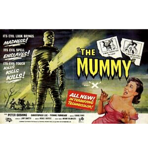 The Mummy 1959 Movie Tin Sign