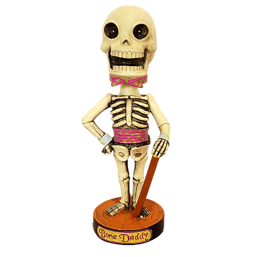 Classic Favorites Skeleton Bone Daddy Bobble Head