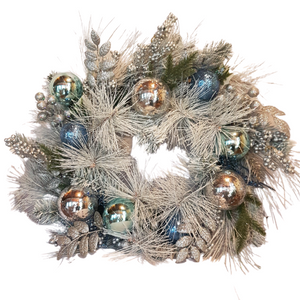 Frosty White Christmas Wreath