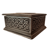 Gunmetal Grey Cold Cast Bronze Celtic Keep Safe Box