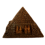 Egyptian Myths and Legends Pyramid Keep Sake Box - By Veronese