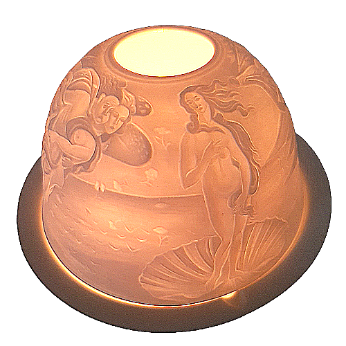Botticelli Angel Porcelain Tea Light Holder