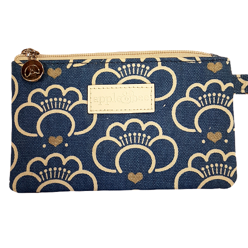 Apple & Bee Lotus Blossom Makeup Bag
