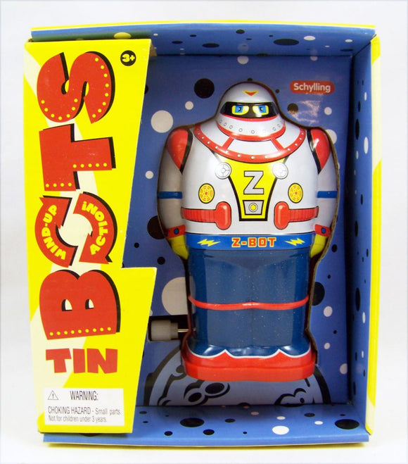 Tin Robot Toy - Wind Up