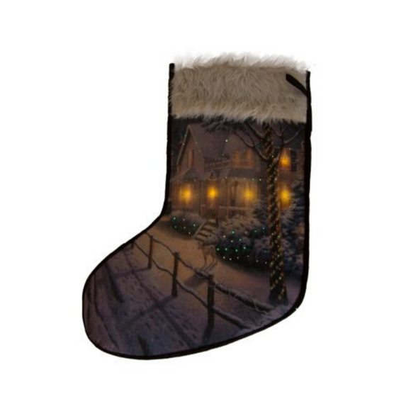Stocking - Fibreoptic Tapestry Stocking