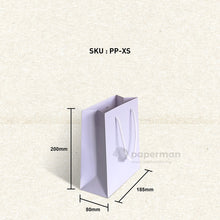 Load image into Gallery viewer, Plain Purple Paper Bag (XS)