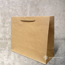 Load image into Gallery viewer, Brown Kraft Paper Bag (Rope) Size XL