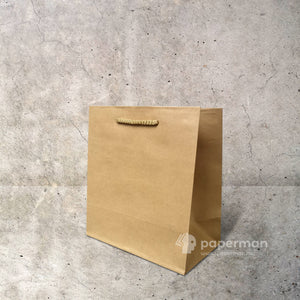 Brown Kraft Paper Bag (Rope) Size XS