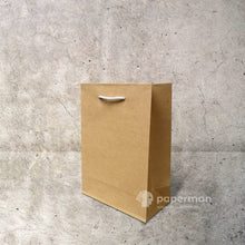 Load image into Gallery viewer, Brown Kraft Paper Bag (Rope) Size XXS