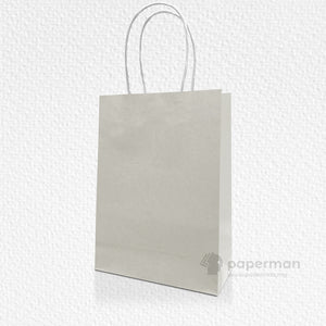 Grey Kraft Paper Bag