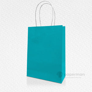 Green Kraft Paper Bag