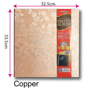 Self Adhesive Photo Album (Copper) Size L