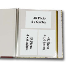 Load image into Gallery viewer, Self Adhesive Photo Album (Gold - Random Design) Size S