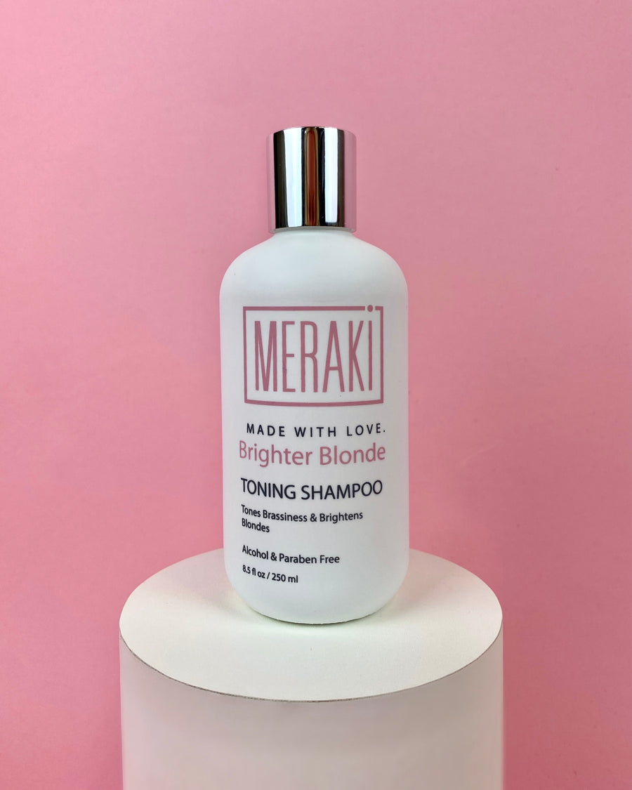Brighter Blonde Toning Shampoo - lovemeraki