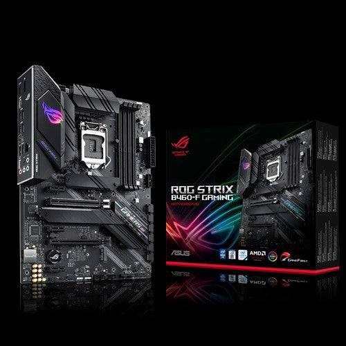 ASUS ROG-STRIX-B460-F-GAMING Socket 1200 10th Gen ATX Motherboard
