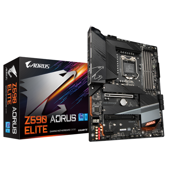 Gigabyte Z590 AORUS ELITE Intel 11th & 10th GEN s1200 Motherboard