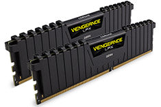 Corsair Vengeance LPX 3600MHz 16GB Kit (2x8GB) DDR4 Black Heat spreader