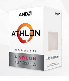 AMD Athlon 3000G Dual Core 3.5GHz, Socket AM4