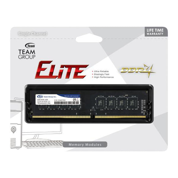 Team Group DDR4 2400MHz (8GBx1) Desktop Memory