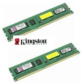 Kingston 4GB Kit (2GBx2) DDR3 1333Mhz Desktop RAM. Clearance