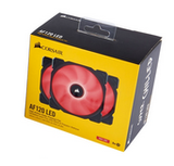 Corsair 12CM Fan AF120 RED LED Low Noise Edition. Three Pack!