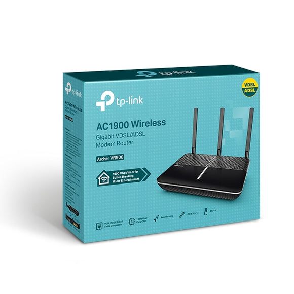 TP-Link Archer VR900 VDSL/ADSL Wireless Modem Router