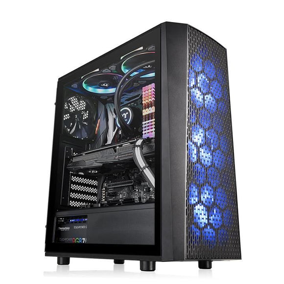 Thermaltake Versa J24 RGB Tempered Glass Edition Mid Tower Case