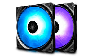 Deepcool 14CM Twin Pack- 2 High Brightness RGB Fans with Dual Control Modes